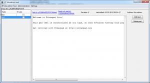 screenshot of version 0.9.1